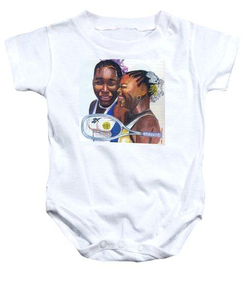 Sisters Williams Baby Onesie
