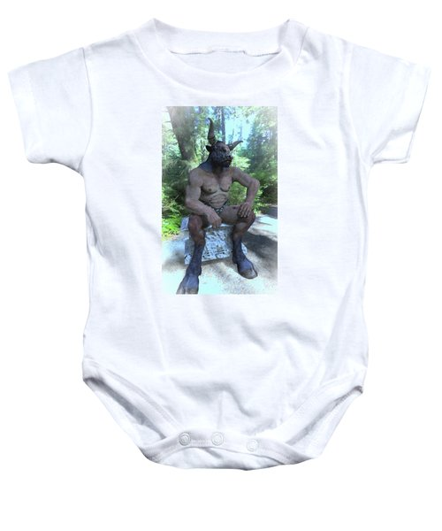 Sitting Bull Baby Onesie