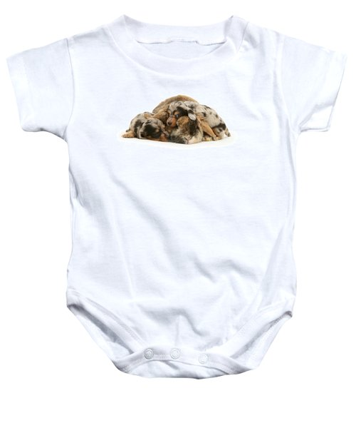 Sleep In Camouflage Baby Onesie