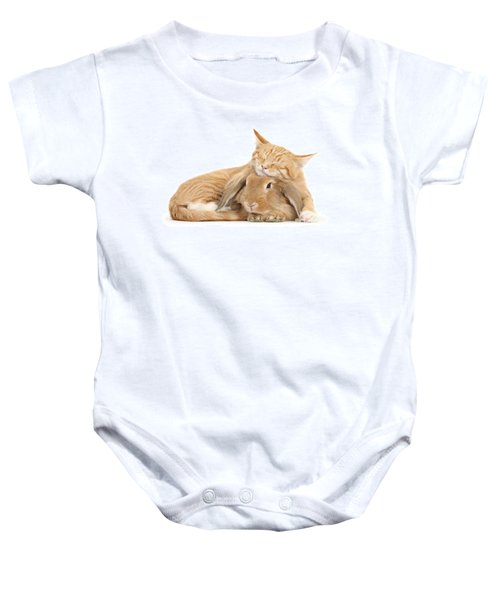 Sleeping On Bun Baby Onesie