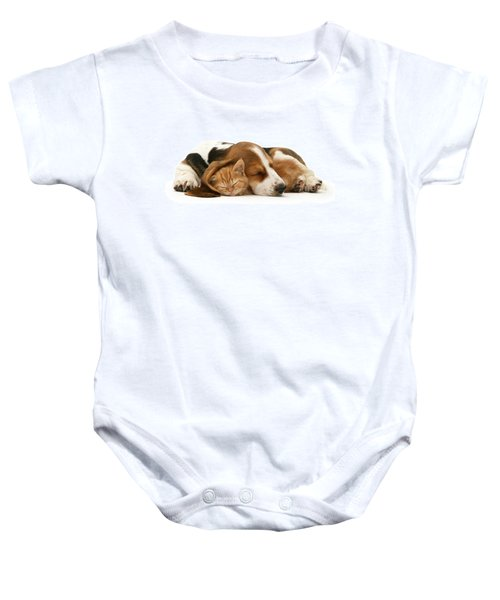 Sleepy Ginger Pals Baby Onesie