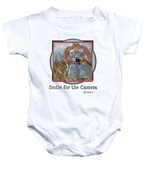 Smile For The Camer Baby Onesie