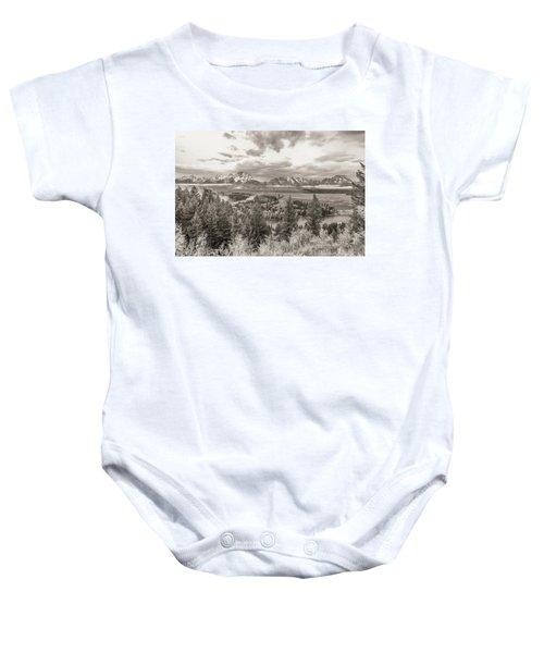 Snake River Overlook Grand Teton Baby Onesie