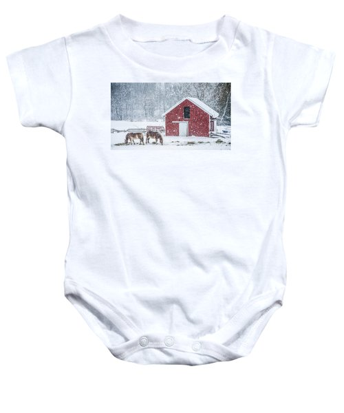 Stowe Vermont Baby Onesies Pixels
