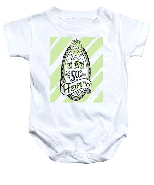 So Hoppy Baby Onesie