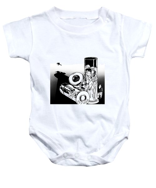 Someone Had To Do Something, And Quick Baby Onesie