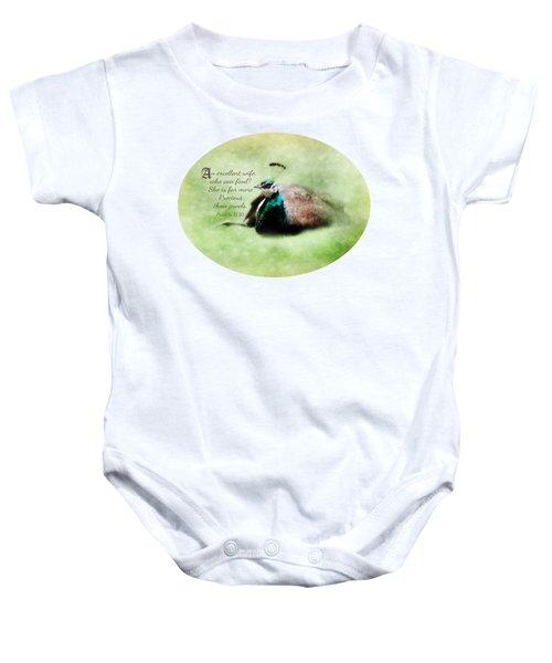 Sophisticated - Verse Baby Onesie