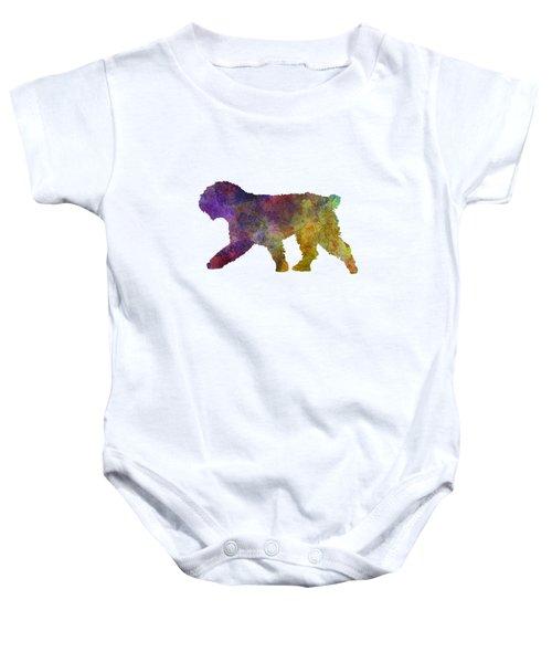 Spanish Water Dog In Watercolor Baby Onesie