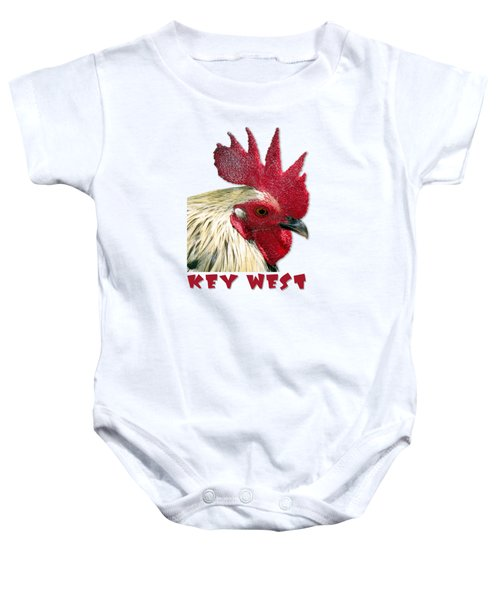 Special Edition Key West Rooster Baby Onesie