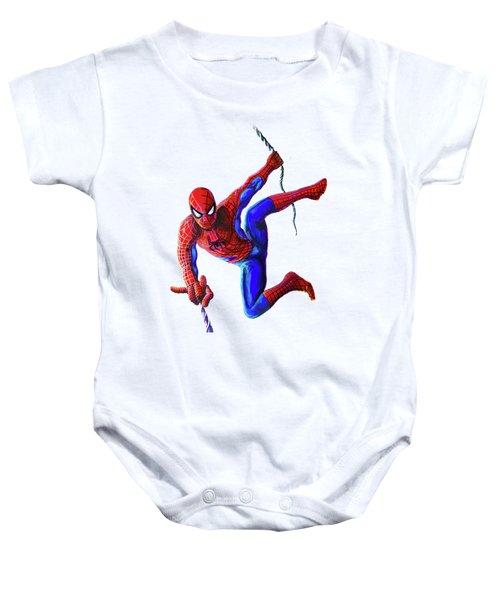 Spiderman Baby Onesie