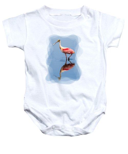 Spoonbill 3 Baby Onesie