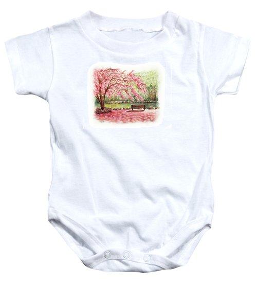 Spring At Lithia Park Baby Onesie