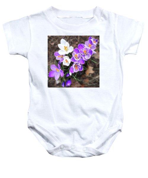 Spring Beauties Baby Onesie