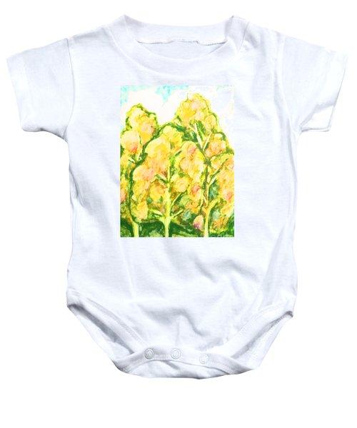 Spring Fantasy Foliage Baby Onesie