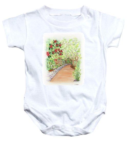 Spring Rhodies Baby Onesie