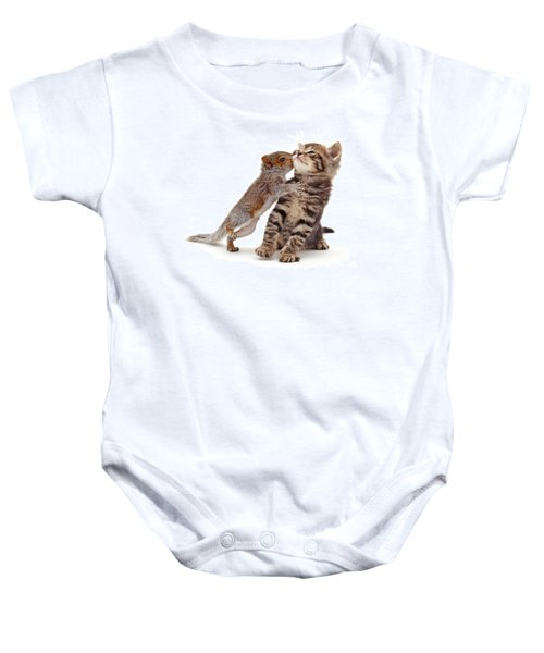 Squirrel Kiss Baby Onesie