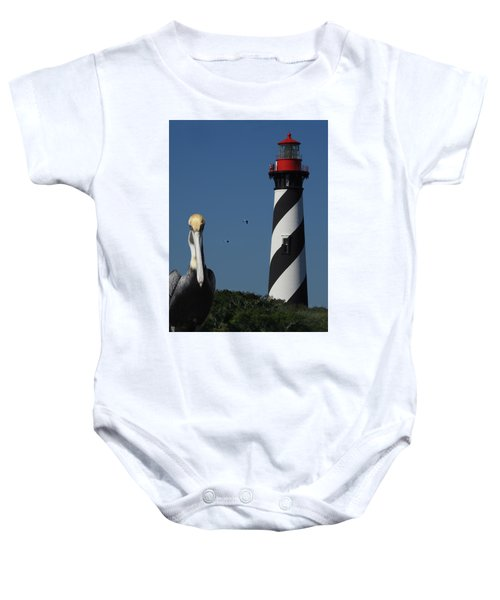 St. Augustine Lighthouse Baby Onesie