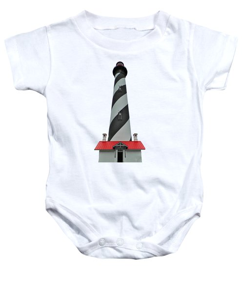 St Augustine Lighthouse Transparent For T Shirts Baby Onesie
