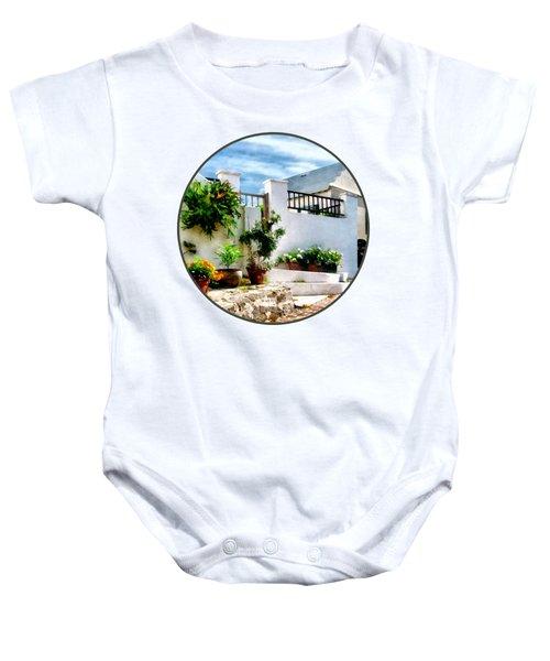 St George Bermuda - Sunny Street Baby Onesie