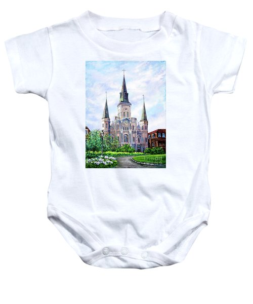 St. Louis Cathedral Baby Onesie