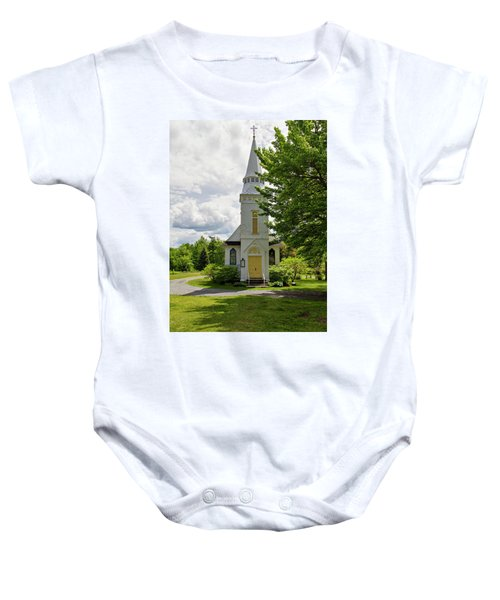 St. Matthew's Chapel Baby Onesie