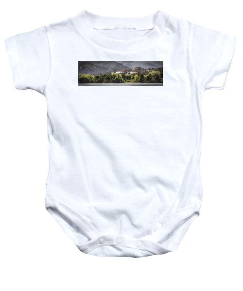 Stanley With Fisher Girl Pano Baby Onesie