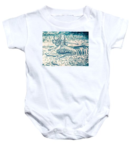 Star Bearer Mermaid Baby Onesie