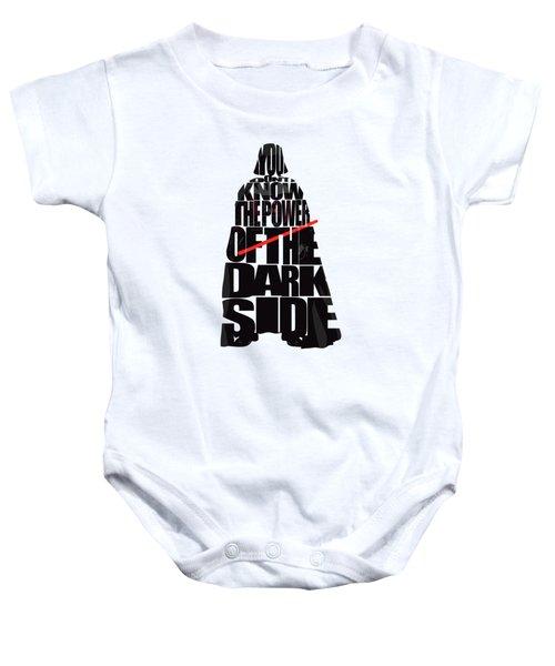 Star Wars Inspired Darth Vader Artwork Baby Onesie