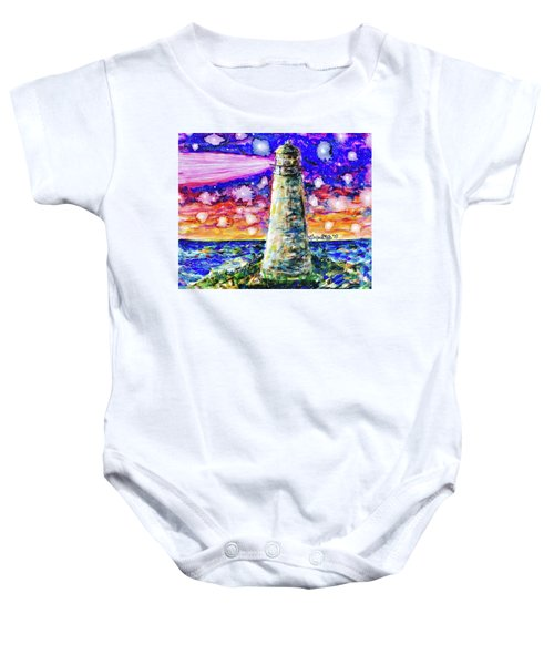 Starry Light Baby Onesie