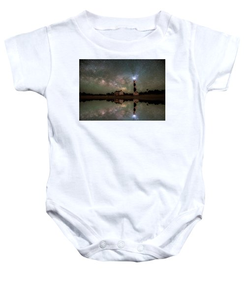 Starry Reflections Baby Onesie