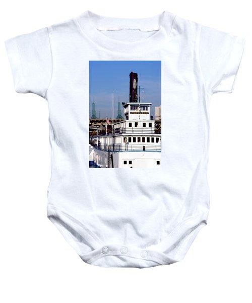 Sternwheeler, Portland Or  Baby Onesie