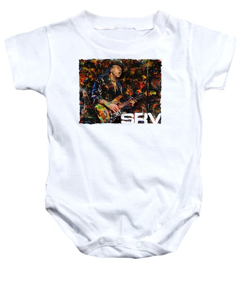 Stevie Ray Baby Onesie
