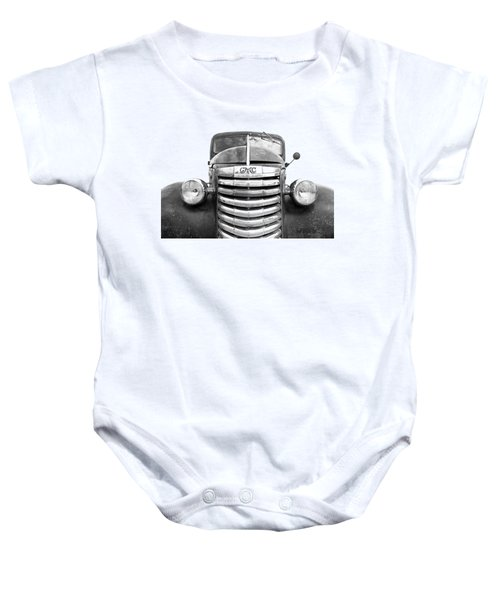 Still Going Strong - Black And White Baby Onesie