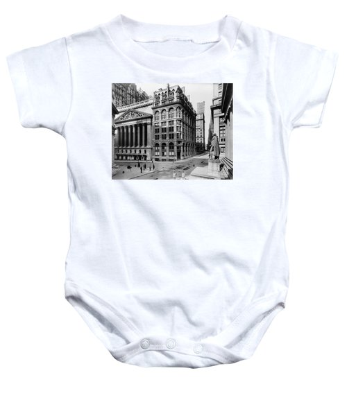 Stock Exchange, C1908 Baby Onesie