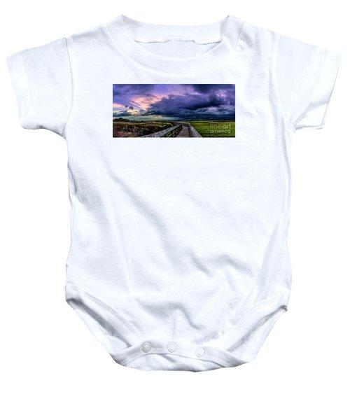Storm Clouds Baby Onesie