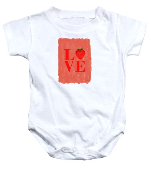 Strawberry Baby Onesie