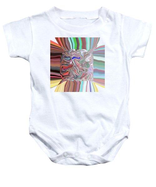 Streams Of Color Baby Onesie