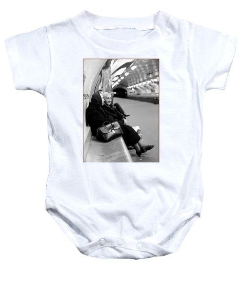 Street Portrait In Paris Baby Onesie