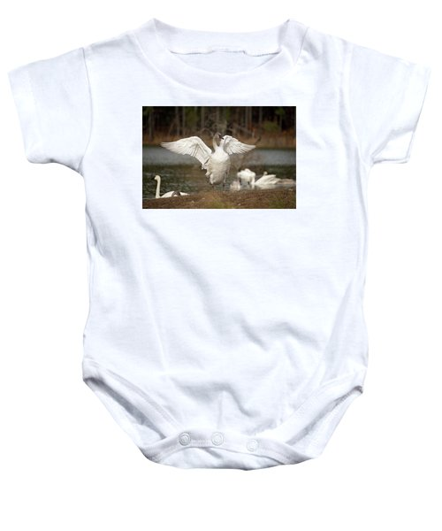 Stretch Your Wings Baby Onesie