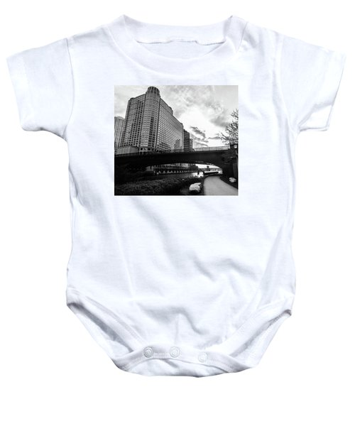Strolling In The Chi Baby Onesie