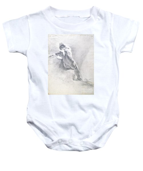 Study Of A Male Nude Baby Onesie
