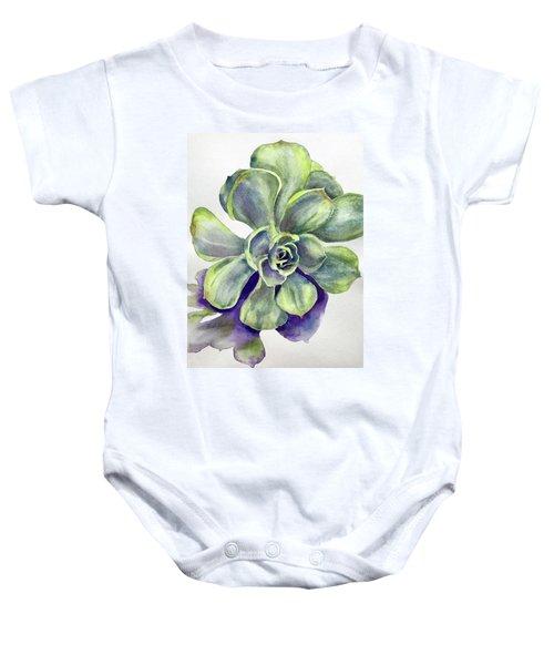 Succulent Plant Baby Onesie