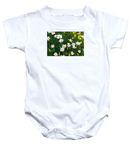 Summer Daisies Baby Onesie