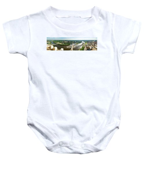 Summer In The Mill City Baby Onesie