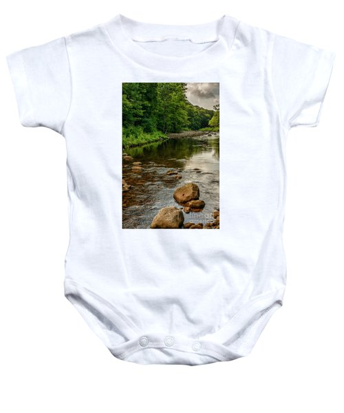 Summer Morning Williams River Baby Onesie