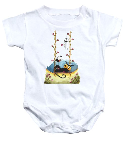 Summer Swing Baby Onesie