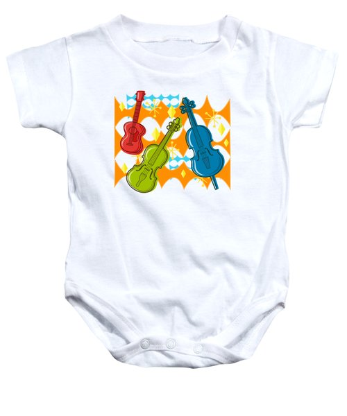 Sunny Grappelli String Jazz Trio Composition Baby Onesie