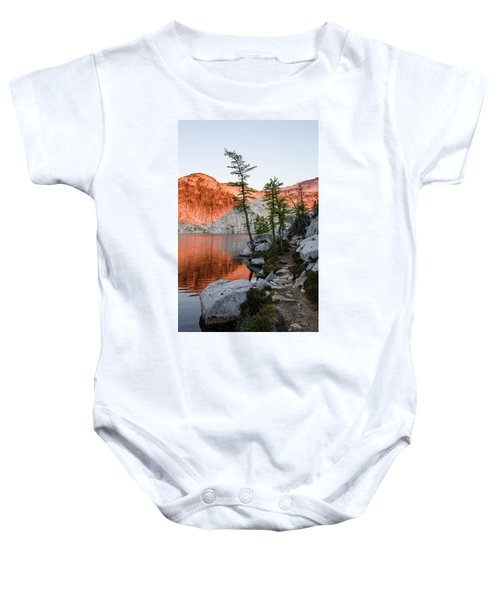 Sunrise In The Enchantments Baby Onesie