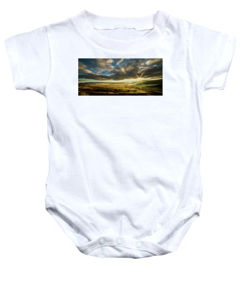 Sunrise Over The Heber Valley Baby Onesie