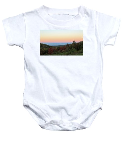 Sunrise Over The Shenandoah Valley Baby Onesie